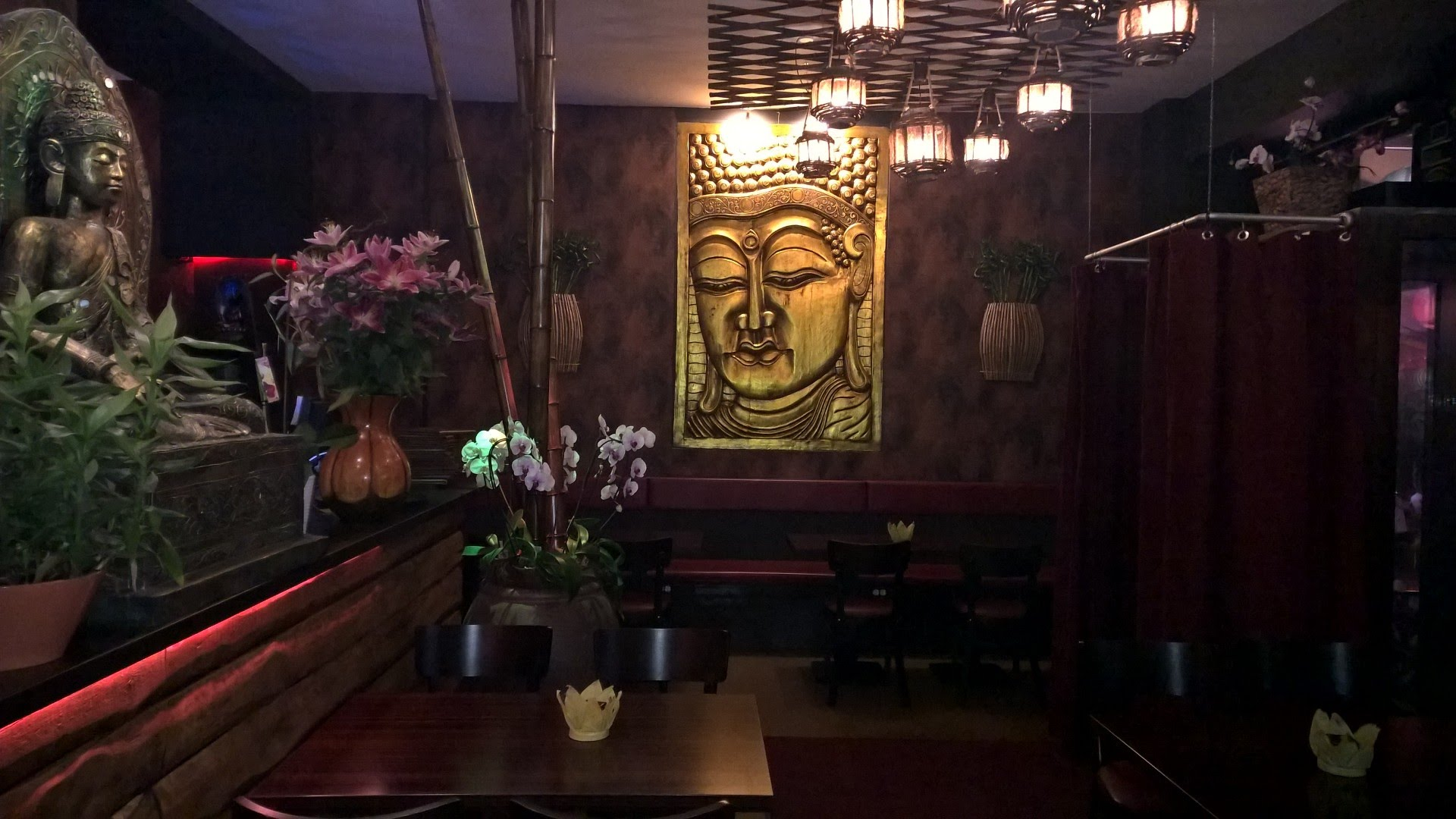 Buddhas Kitchen Berlin Gastraum